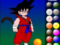 Dragonball Kid Goku ausmahlen